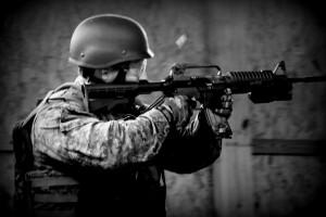 SWAT Hatfield Firing, pinched