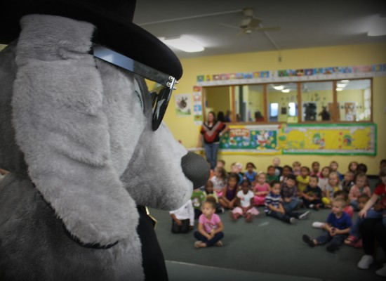 Deputy Dog at Bream Center Pre-School
