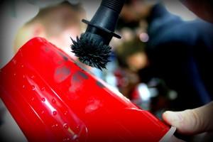 Crime Scene Workshop Fingerprinting with Magnetic Powder
